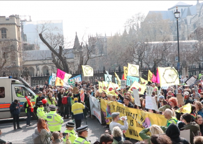 International Rebellion - Westminster Blockade
